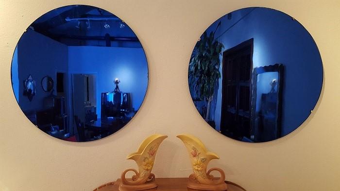 آینه آبی