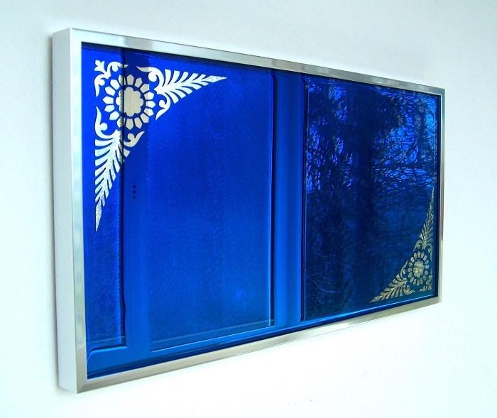 کاربرد آینه آبی