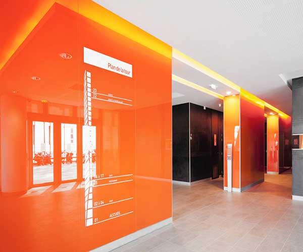 شیشه رنگی دیوارپوش - صنایع شیشه و آینه آگاهی 09120162820